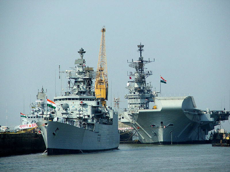 india advances in naval arms race with china