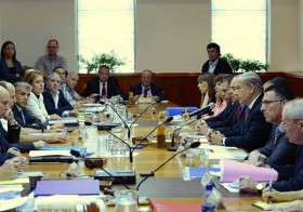 Israel Cabinet meeting