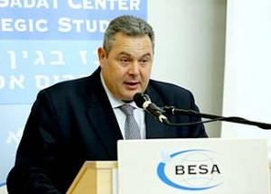Greek Minister of Defense, Panos Kammenos