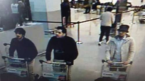 Terror attack in Brussels March 2016