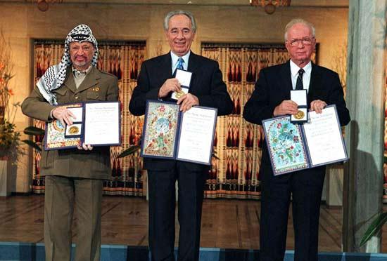 Nobel-Arafat-Peres-Rabin