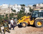 Illegal building in the Palestinian Authority