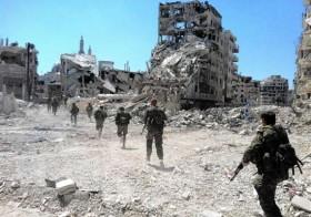 Syria War Homs